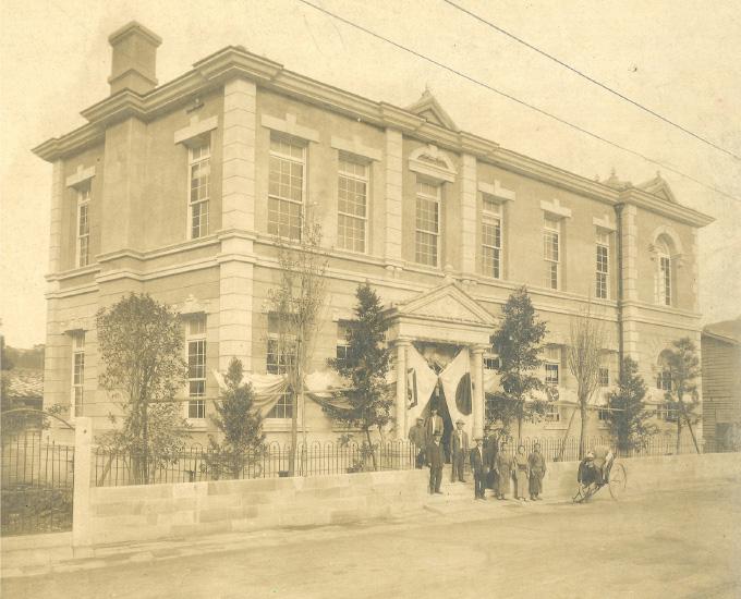 創業初期社屋